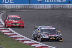Martin Tomczyk, Audi Sport Team Abt Audi A4 DTM and Congfu Cheng, Persson Motorsport, AMG Mercedes C-Klasse