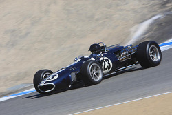 Alex Gurney, son of Dan Gurney, drives his fathers Formula 1 1967 Belgian Grand Prix race winner Eagle-Westlake