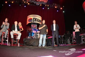 Tony Stewart, Stewart-Haas Racing participates in the Texas Motor Speedway announcement