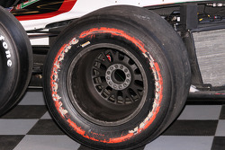 Worn out Firestone tire