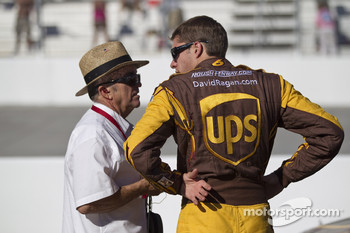 David Ragan, Roush Fenway Racing Ford with Jack Roush