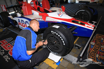 A.J. Foyt Enterprises team members at work
