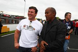 Mark Blundel with Anthony Hamilton