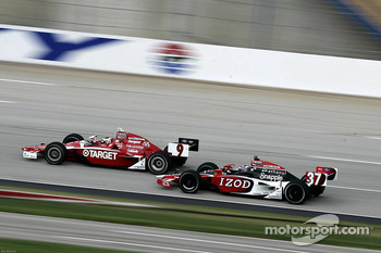 Scott Dixon, Target Chip Ganassi Racing, Ryan Hunter-Reay, Andretti Autosport