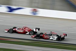 Scott Dixon, Target Chip Ganassi Racing, Ryan Hunter-Reay, Andretti Autosport
