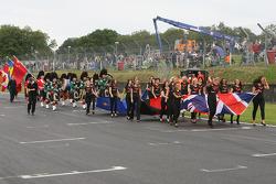 Track parade