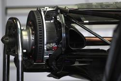 Williams F1 Team rear brake system