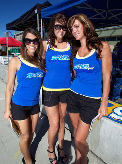 The charming Turner Motorsport girls