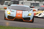 #99 Gulf Team First Lamborghini LP560: Fabien Giroix, Roald Goethe