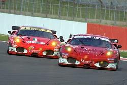 #94 AF Corse Ferrari F430 GT: Luis Perez Companc, Matias Russo and #96 AF Corse Ferrari F430 GT: Gianmaria Bruni, Jaime Melo