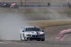 #21 Matt Connolly Motorsports Pontiac GTO.R: Lee Carpentier, Dean Martin in trouble