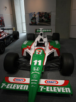 Car of Tony Kanaan, Andretti Autosport in the Honda Museum