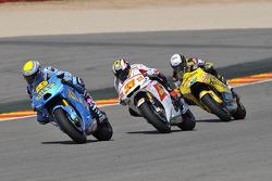 Alvaro Bautista, Rizla Suzuki MotoGP, Marco Melandri, San Carlo Honda Gresini, Hector Barbera, Paginas Amarillas Aspar