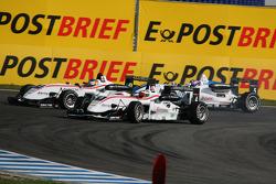 Carlos Munoz, Mücke Motorsport Dallara F308 Mercedes, Roberto Merhi, Mücke Motorsport Dallara F308 Mercedes