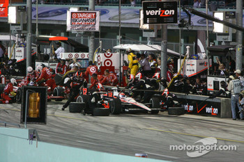 Will Power, Team Penske in the pits