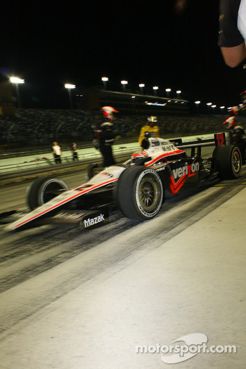 Will Power, Team Penske finally leaves the pits