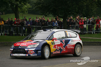 Sbastien Ogier and Julien Ingrassia and Citron C4 WRC, Citron Junior Team