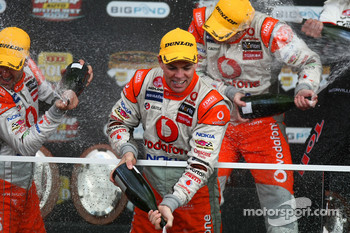 Craig Lowndes celebrates