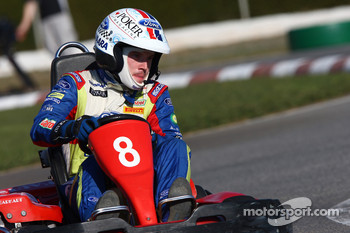 Rally Catalunya karting race: Jari-Matti Latvala