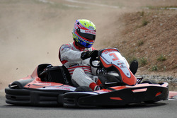 GT1 Karting in Navarra: Michael Krumm