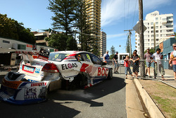 Car of Jason Richards and Andrew Jones