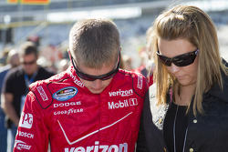 Justin Allgaier and Ashley Allgaier