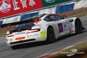 #91 Team Hong Kong Racing: Aston Martin DBR S9: Philippe Ma, Mathias Beche