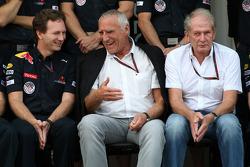 Christian Horner, Red Bull Racing, Sporting Director, Dietrich Mateschitz, Owner of Red Bull, Helmut Marko, Red Bull Racing, Red Bull Advisor