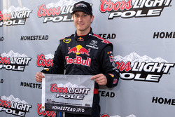 Pole winner Kasey Kahne, Red Bull Racing Team Toyota
