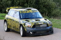 Mini Countryman WRC 25 testing