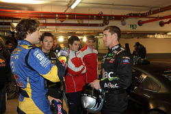 Travis Pastrana and Carl Edwards