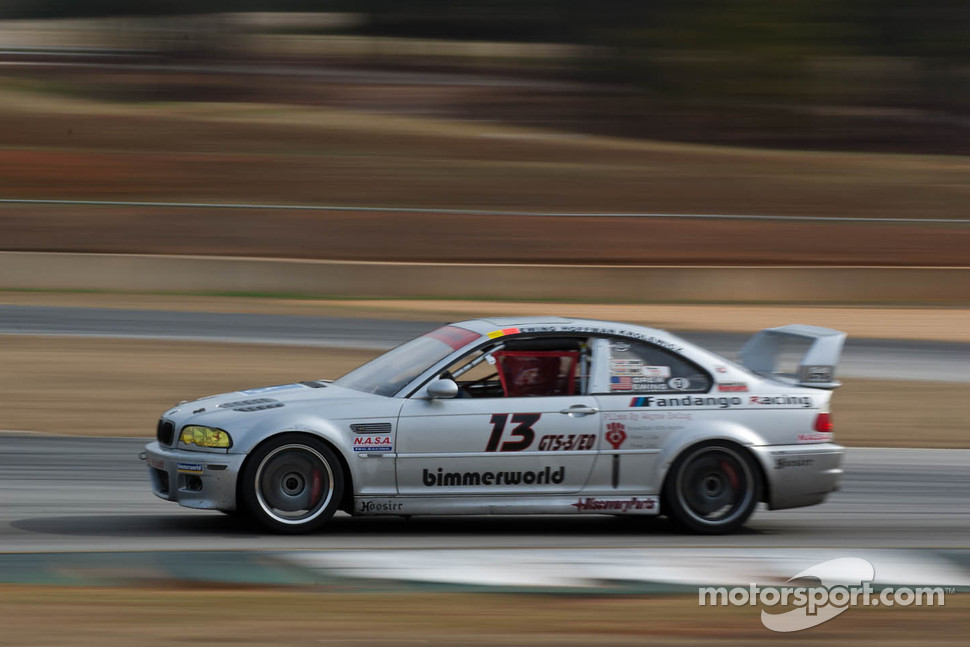 #13 Fandango Racing Inc. 2002 BMW M3 silver: Drew Ewing, Jon Krolewicz