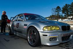 #13 Fandango Racing Inc. 2002 BMW M3 silver: Drew Ewing, Jon Krolewicz