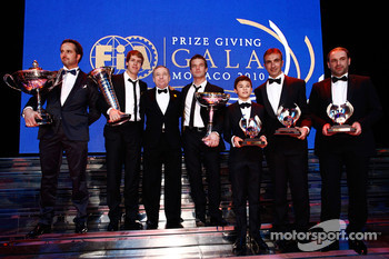 FIA President Jean Todt with the 2010 FIA World Champions
