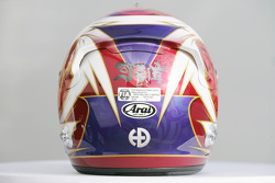 Kamui Kobayashi, Sauber F1 helmet
