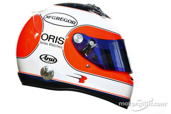 Rubens Barrichello, Williams helmet
