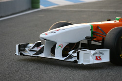 Force India front wing detail