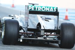 Nico Rosberg, Mercedes GP Petronas F1, rear detail