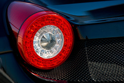 #002 Extreme Speed Motorsports Ferrari F458 GTC rear light detail