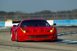#61 Risi Competizione Ferrari F458 GT: Jaime Melo, Tony Vilander