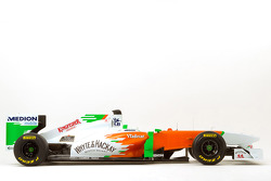 The new Force India VJM04 for the 2011 F1 season