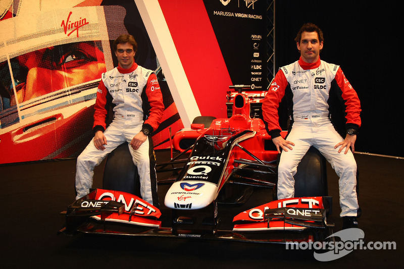 Jerome D'Ambrosio, Marussia Virgin Racing and Timo Glock, Marussia Virgin Racing