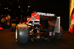 The new Marussia Virgin Racing MVR-02
