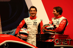 Timo Glock, Marussia Virgin Racing and Jerome D'Ambrosio, Marussia Virgin Racing