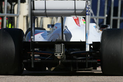 Sauber F1 Team technical detail, difusor
