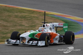 Nico Hulkenberg, Force India F1 Team, Test Driver in last years car