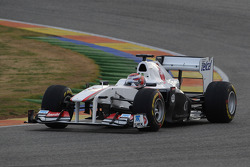 Kamui Kobayashi, Sauber F1 Team, C30