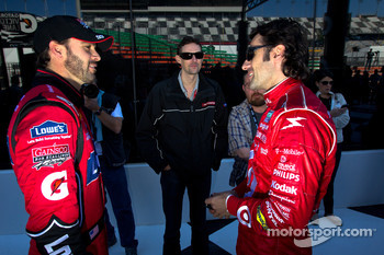 Rolex 24 At Daytona Champions photo: Jimmie Johnson and Dario Franchitti