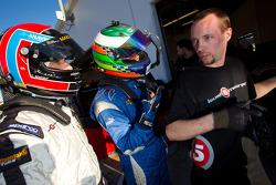Driver change practice at Level 5 Motorsports: Christophe Bouchut and Luis Diaz