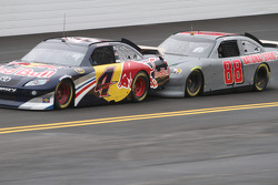 Kasey Kahne, Red Bull Racing Team Toyota and Dale Earnhardt Jr., Hendrick Motorsports Chevrolet